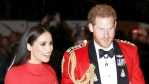 Harry and Meghan attend a Royal event
