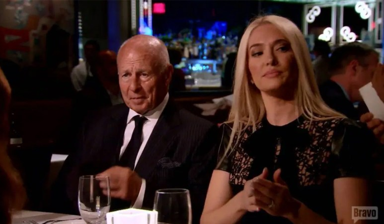 Tom and Erika on RHOBH; Tom's accusers ask what he did to get them there.