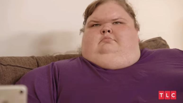 1000-lb Sisters star Tammy Slaton.