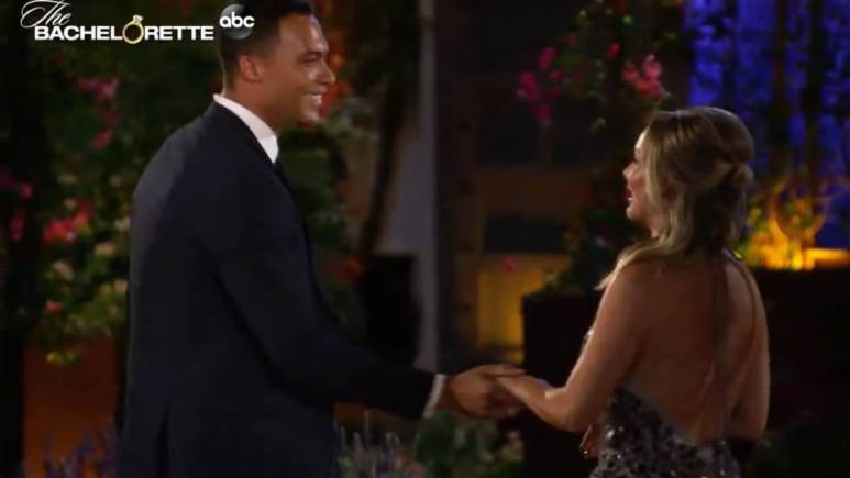 Clare Crawley meets Dale Moss on The Bachelorette.