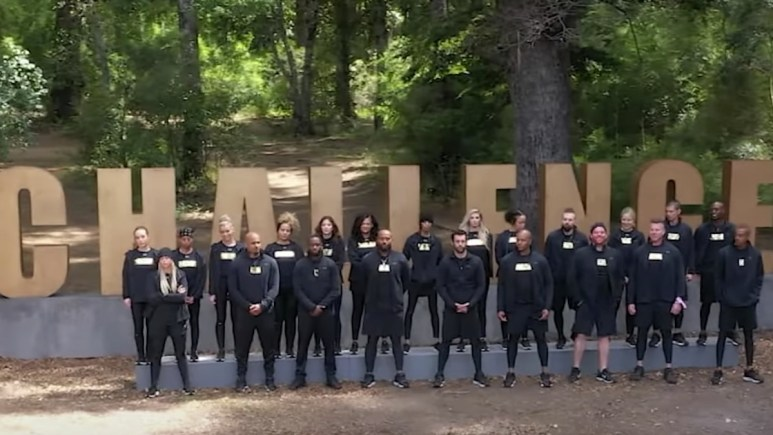 the challenge all stars competitors assembled