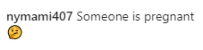 A fan thinks JWOWW is pregnant