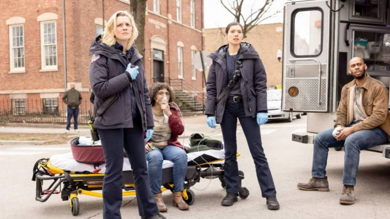 Brett And Violet Chicago Fire