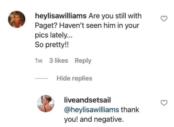 Ciara break up comment