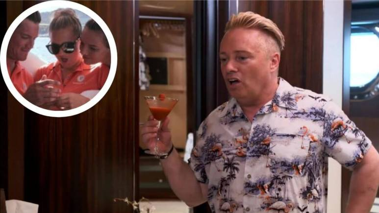 Barrie Drewitt-Barlow from Below Deck Sailing Yacht takes issue with chief stew Daisy Kelliher .