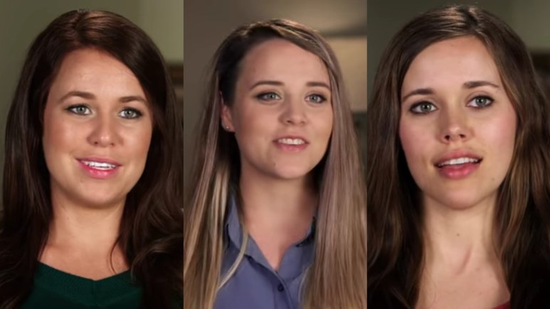 Jana, Jinger, and Jessa in confessionals.