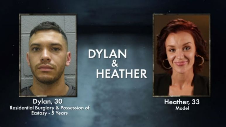 Dylan and Heather from Love After Lockup