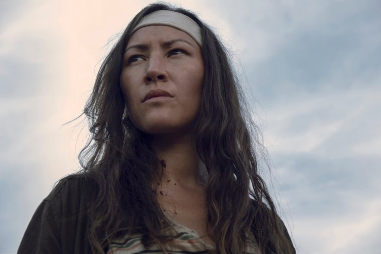 Eleanor Matsuura stars as Yumiko, as seen in Episode 7 of AMC's The Walking Dead Season 9