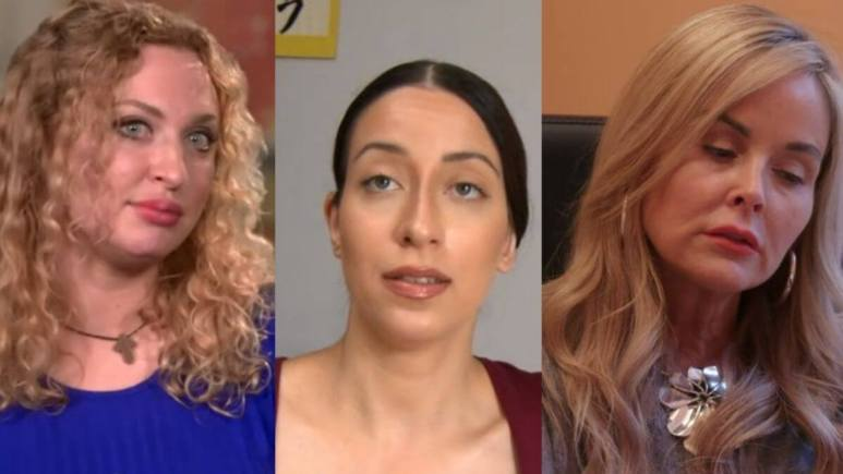 Natalie, Stephanie and Amira from 90 Day Fiance
