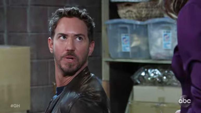 Wes Ramsey as Peter on General Hospital.