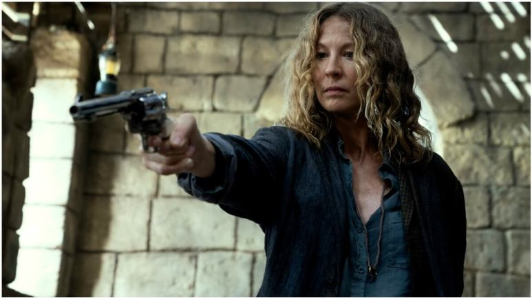 Jenna Elfman stars as June, as seen in Episode 9 of AMC's Fear the Walking Dead Season 6