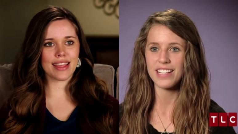 Jessa and Jill in TLC confessionals.