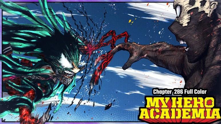 Rage Deku vs Shigaraki
