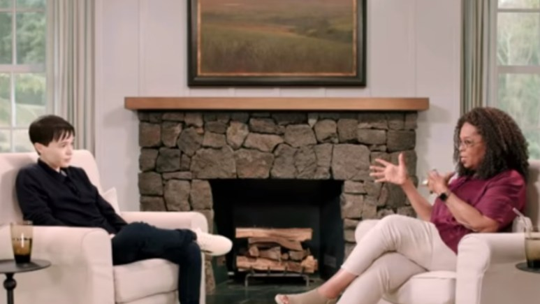 Page interview with Oprah