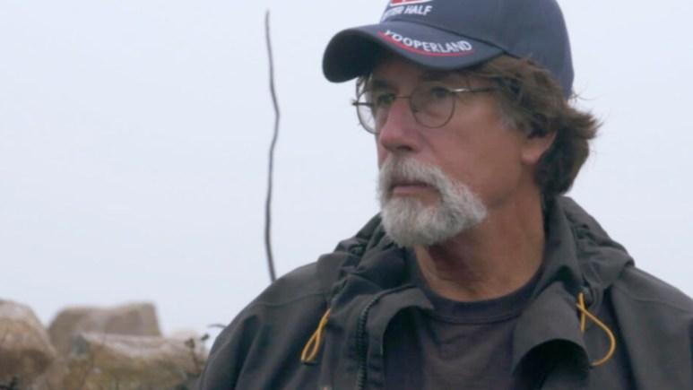 Rick Lagina in the swamp