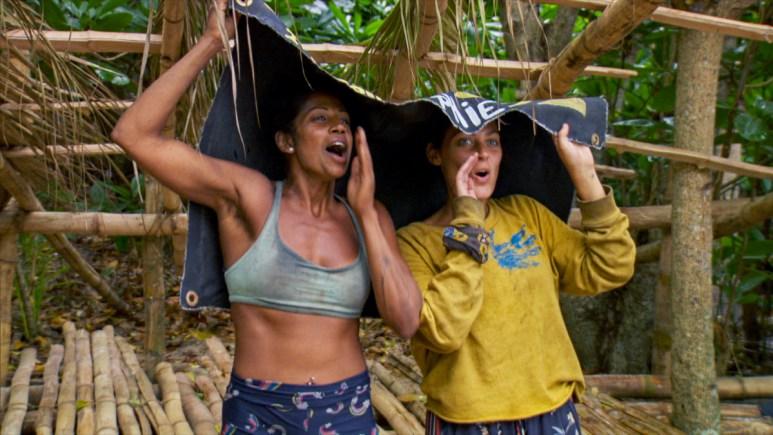 Survivor 40 Cast In Rain