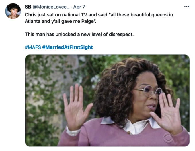 Twitter fans bash MAFS star Chris Williams