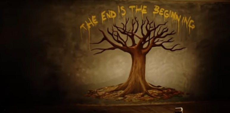 The End is the Beginning artwork shown in the Episode 11 trailer for AMC's Fear the Walking Dead Season 6
