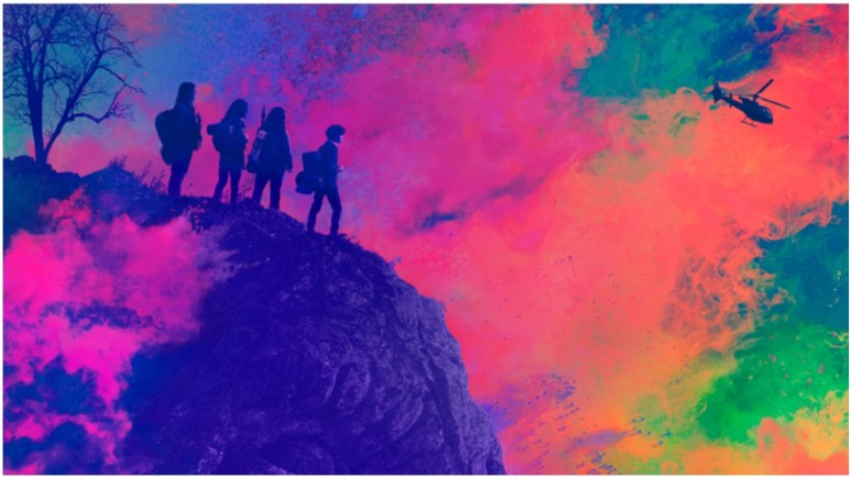 Key artwork for AMC's The Walking Dead: World Beyond