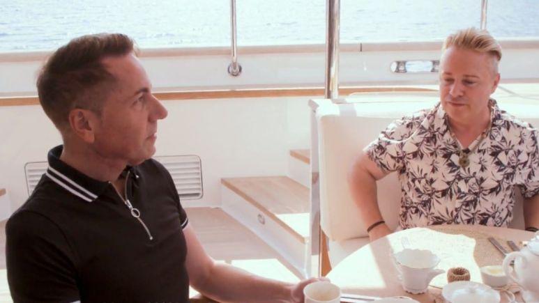 Is Below Deck Sailing Yacht charter guest Tony Drewitt Barlow still suffering from cancer?