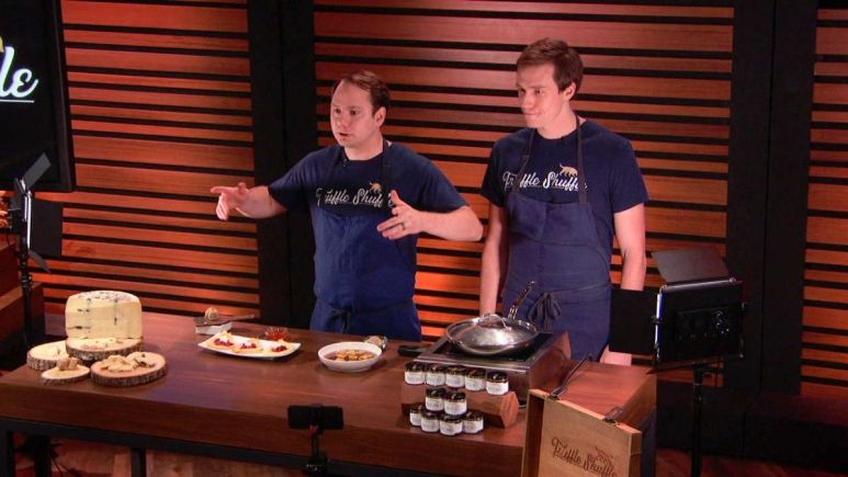 Truffle Shuffle is a Shark Tank product that is a cooking experience and meal kit delivery service based on truffles.