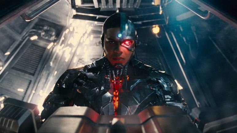 Cyborg in The Flash movie Borg life.