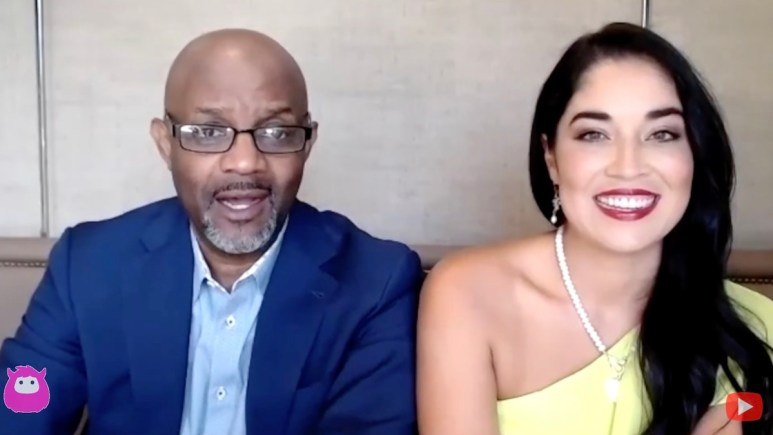Viviana Coles and Pastor Cal