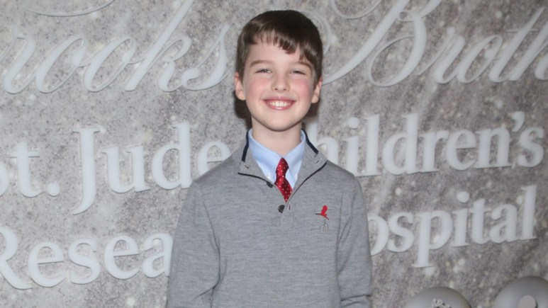 Iain Armitage on the red carpet