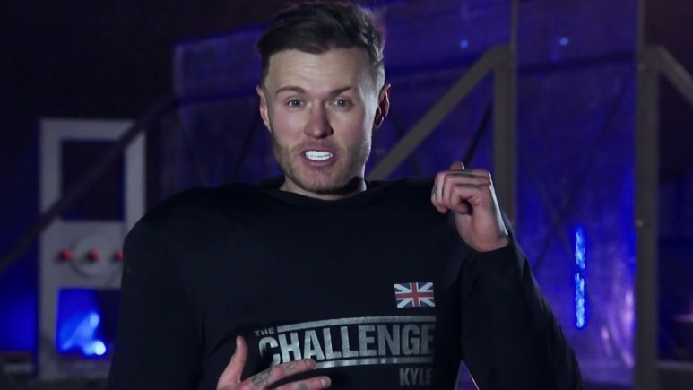 the challenge kyle christie after hall brawl elimination