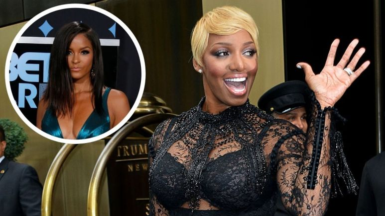 Claudia Jordan thinks former RHOA castmate NeNe Leakes is irrelevant