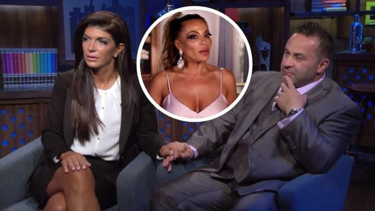 Dolores Catania thinks Teresa and Joe's relationship mirrors her relationship with  Frank Catania