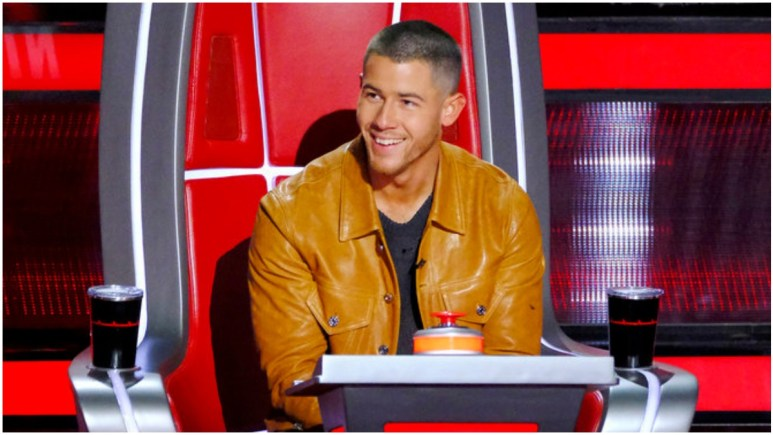 Nick Jonas on the Voice
