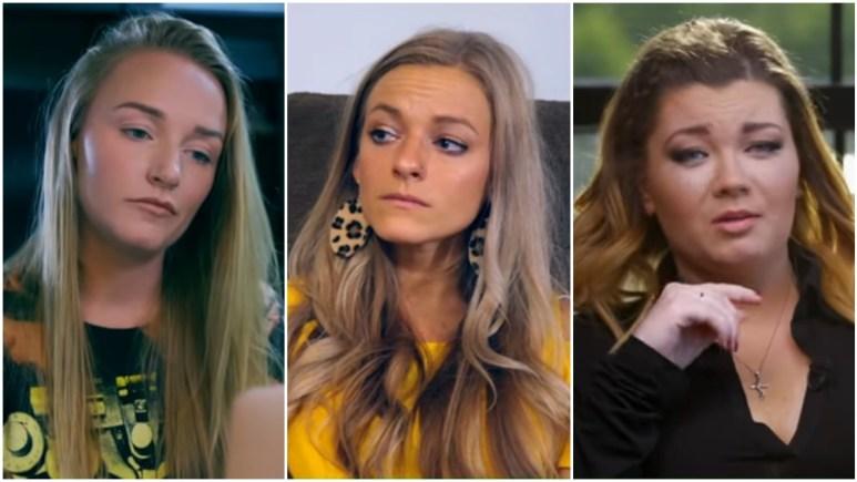 Maci Bookout, Mackenzie McKee, and Amber Portwood on Teen Mom OG