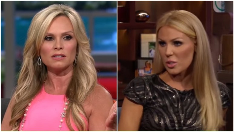 Tamra Judge and Gretchen Rossi on RHOC