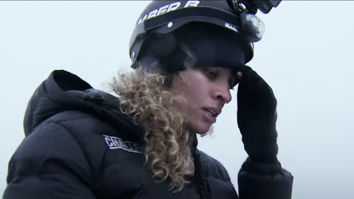 amber borzotra during the challenge double agents episode 17