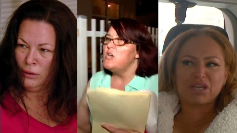 Darcey, Danielle, and Molly from 90 Day Fiance