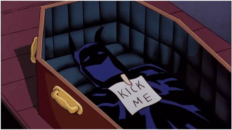 Batman funeral