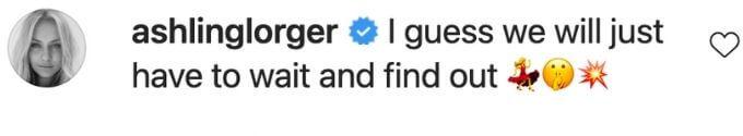 Asling Lorger teases fans about Below Deck Australia.