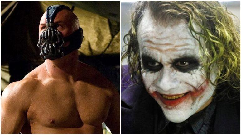 Bane and Joker as Batman villains