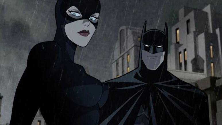 Batman and Catwoman in Batman The Long Halloween