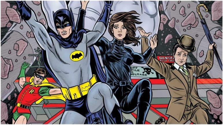 Batman 1960s Avengers