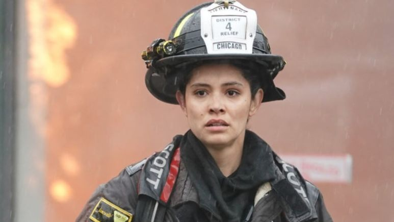 Firefighter Stella Kidd On Chicago Fire