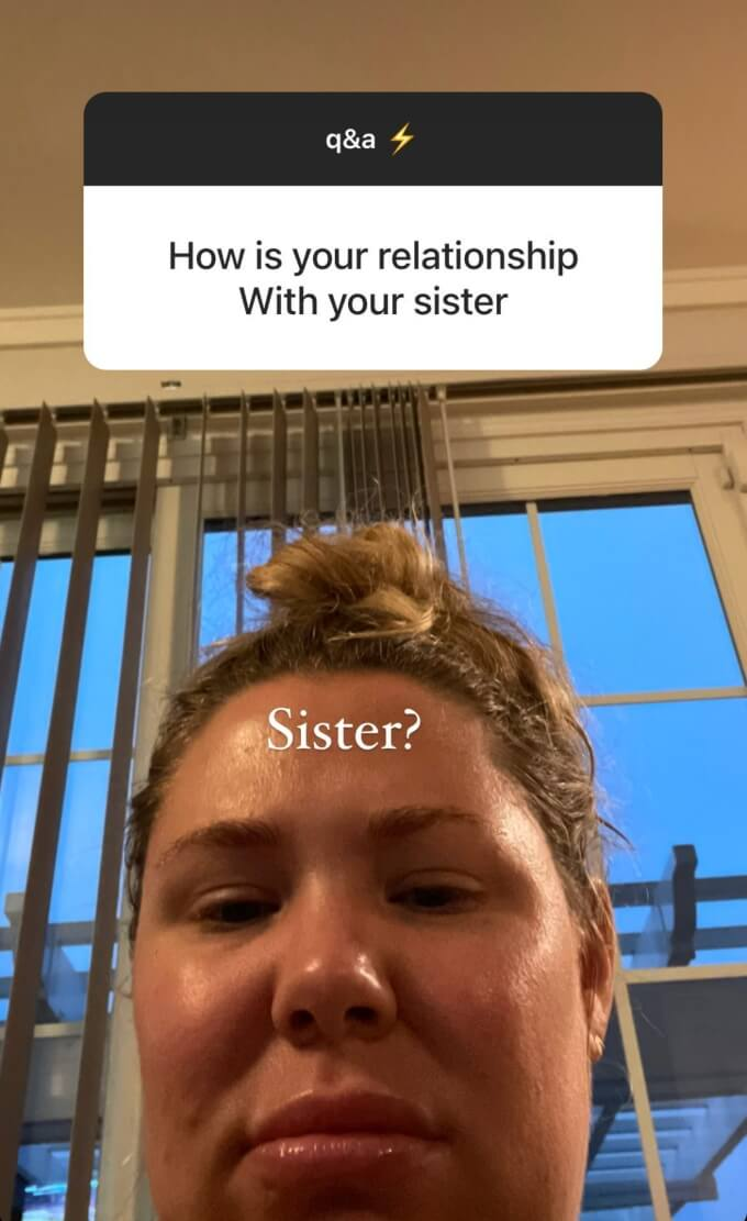 Kail Lowry opens up about her sister
