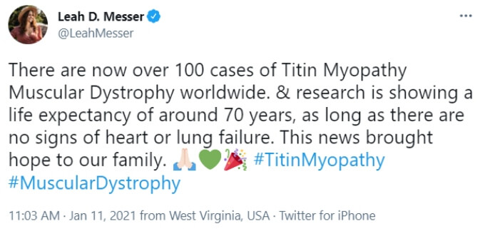 Leah Messer of Teen Mom 2 on Twitter