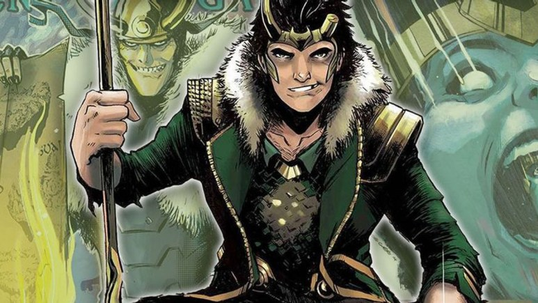 Loki as the God of Stories
