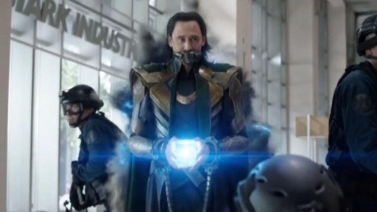 Loki in Avengers Endgame