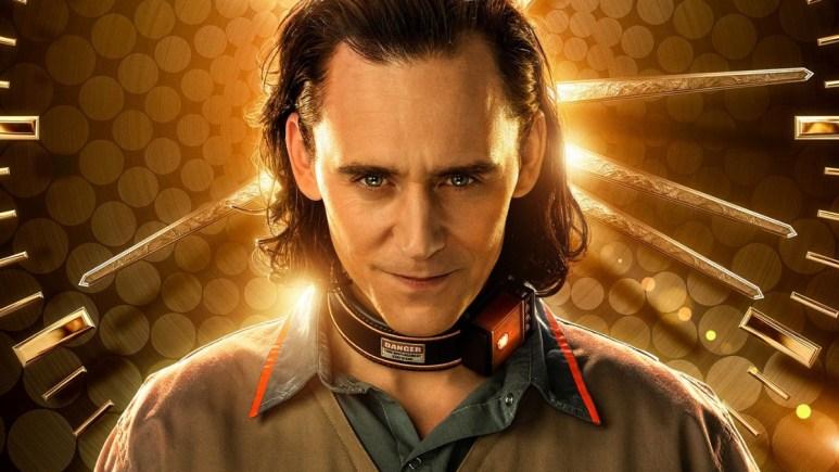 Tom Hiddelston as Loki for Disney+.