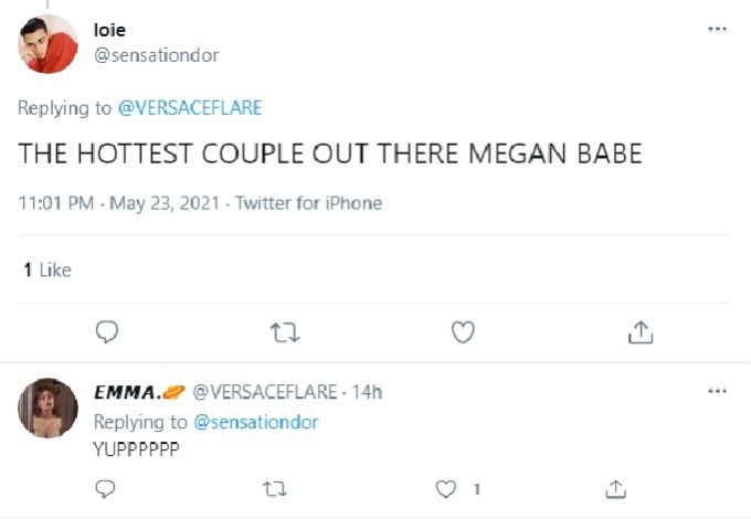 Fans comment on Meghan Fox's look