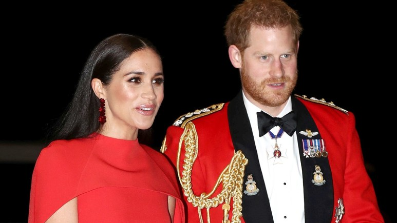 Harry and Meghan at a royal event
