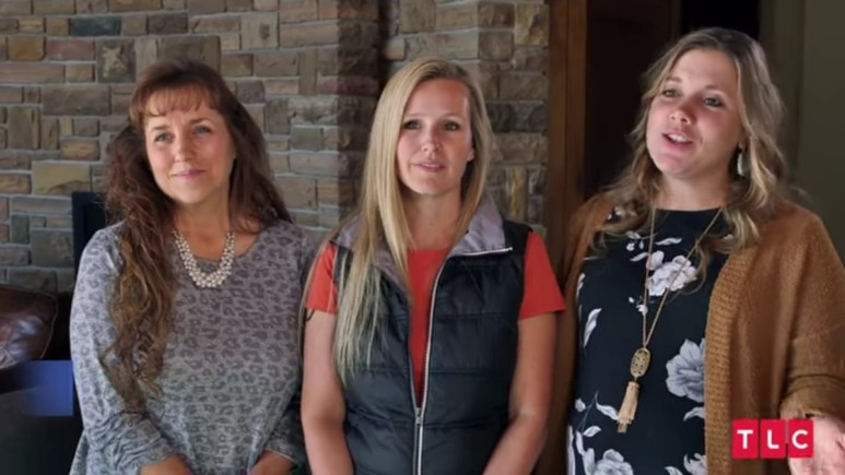 Michelle Duggar, Christina Caldwell, and Anna Duggar.